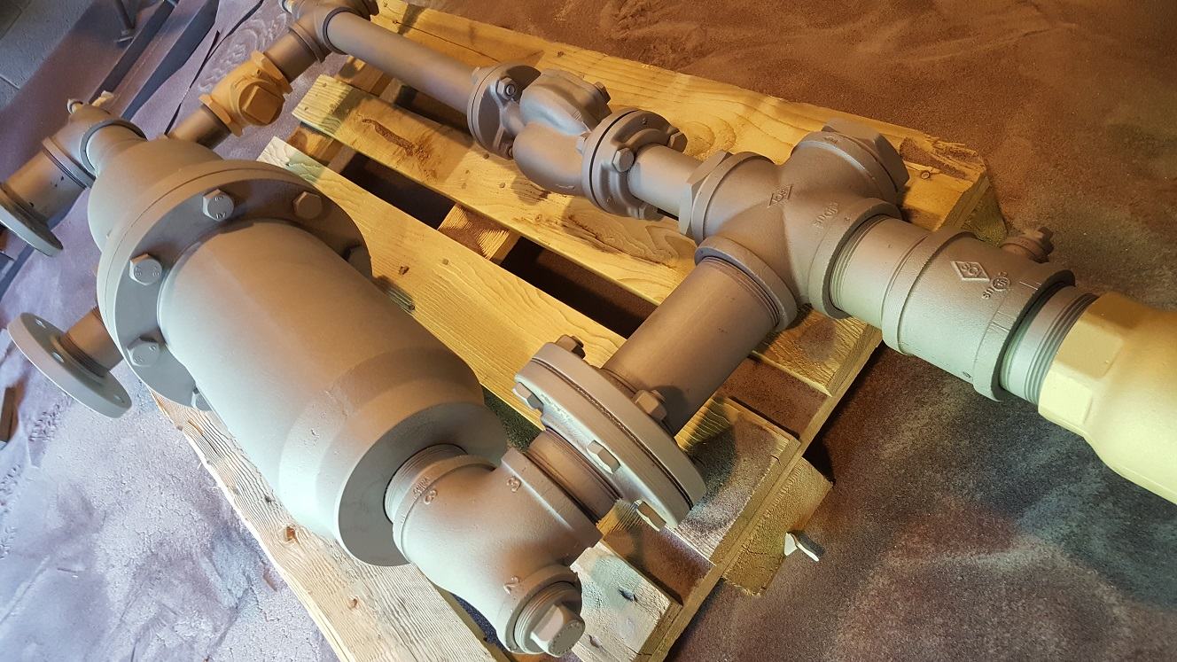 Sandblasting Heat Exchanger